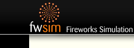 FWsim Fireworks Simulation Game